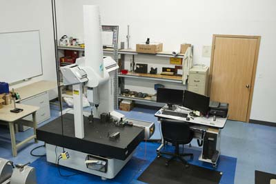 electronic, hard gauge, and machine tool calibration lab